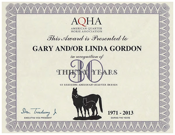 AQHA-30-year-breeding-recognition-award