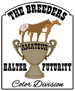 ELIGIBLE FOR BREEDERS HALTER FUTURITY AMATEUR COLOR DIVISION