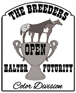 ELIGIBLE FOR BREEDERS HALTER FUTURITY OPEN COLOR DIVISION